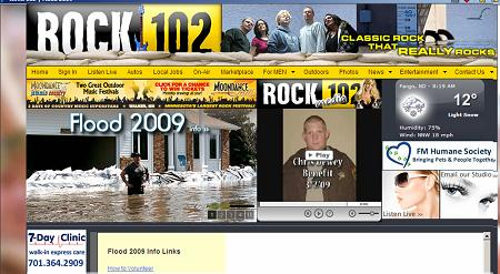 Rock102 flood