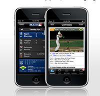 MLB iPhone app
