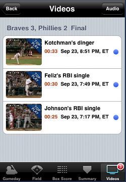MLB Videos