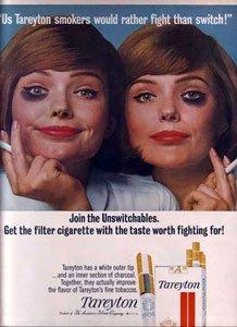 Tareyton Cigarette Ad