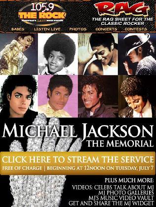 Michael Jackson Memorial Stream 2