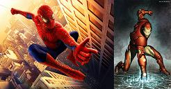 Spiderman_Iron Man