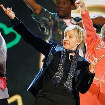 Dancing Ellen DeGeneres