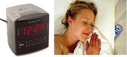 Clock Radio vs. Cell Phone Alarm