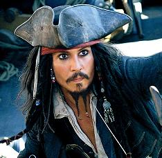 Johnny depp pirate 2