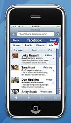 Facebook Mobile Device