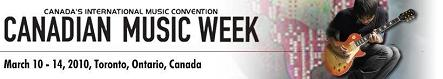 Canadian Music Week Logo