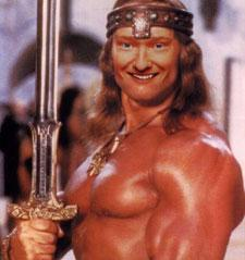 Conan O'Brien the Barbarian