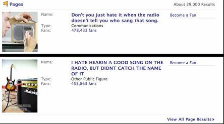 Angry Radio Listeners - Facebook