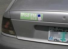 IPod Bumpersticker