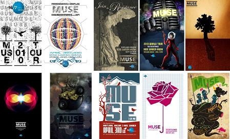 Muse Contest Posters
