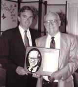 Bob Ottaway & Ernie Harwell