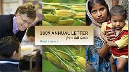 Bill Gates 2009 Annual Letter