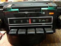 Pushbutton car radio