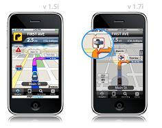Telenav's AT&T Navigator iPhone