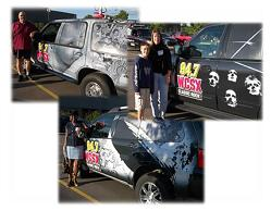 WCSX Logo Car Promotion