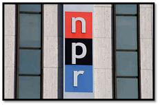 NPR Logo on buliding