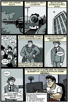 Clark Kent_Superman Blog Comic