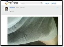 Rep. Anthony Weiner yfrog account