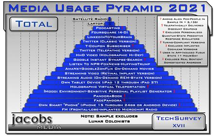 TS17 Media Usage Pyramid 2021