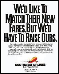 Southwest Airlines Ad