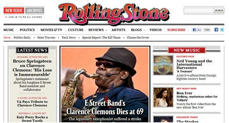 Clarence Clemons_Rolling Stone