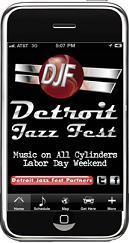 Detroit Jazz Festival app